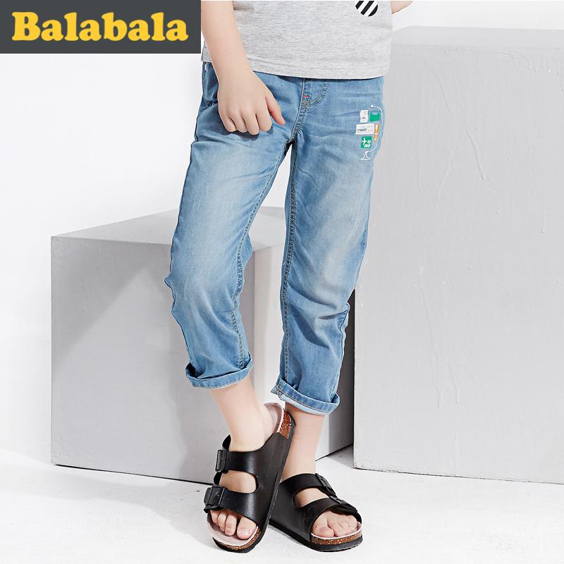 巴拉巴拉男童兒童薄款童褲