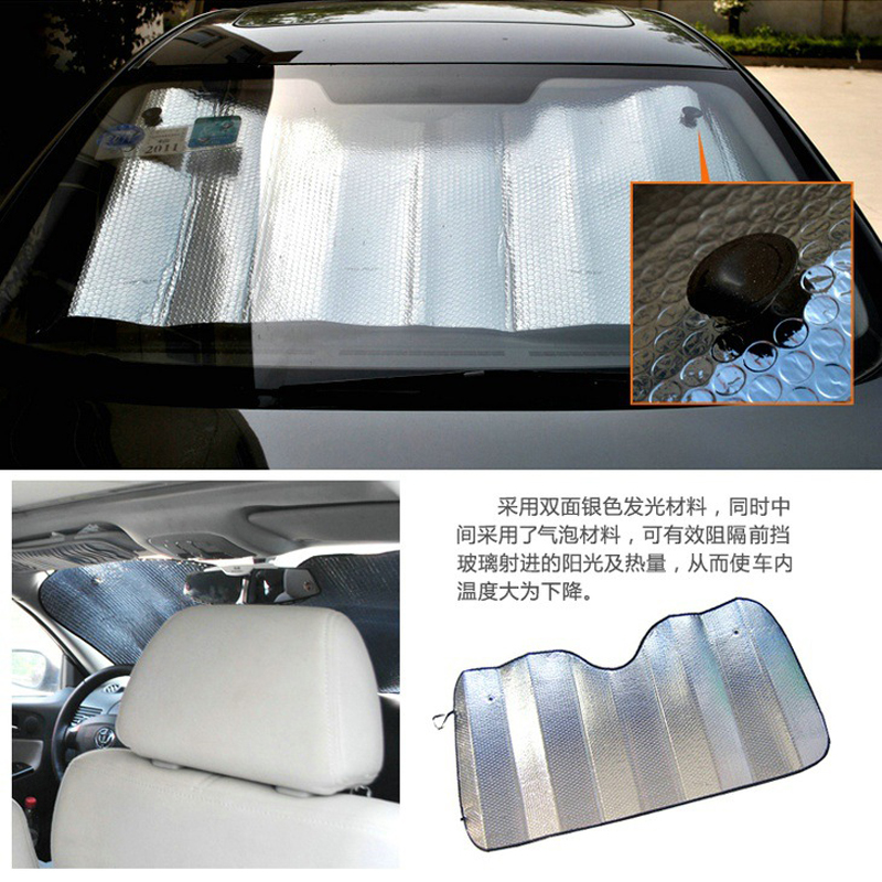 The sun proof and heat insulation sunshade of Pentium X40 car front windshield cover shading plate car interior light proof pad
