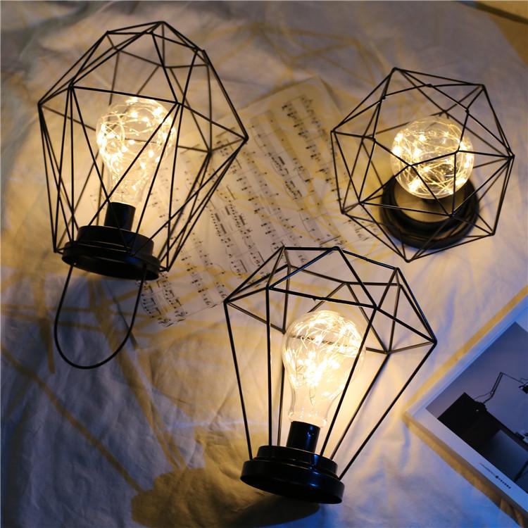 热销161件买三送一小台灯ins风简约创意北欧台灯卧室床头礼物网红少女心插电式夜灯