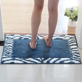 卫生间地垫卫浴浴室门口吸水防滑垫子脚垫门垫加厚家用卧室地毯图片