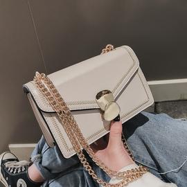 上新小包包女2020新款潮韩版时尚链条小方包简约百搭单肩包斜挎包