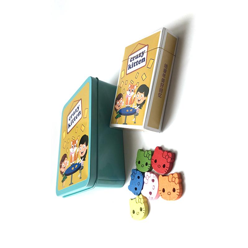 小猫咪咪牌猫牌德国H2564同款儿童益智游戏牌 亲子桌游喵喵来了牌
