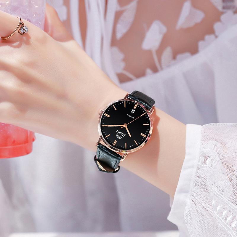 手表女生ins风高中时尚简约气质休闲防水少女初中学生2020年新款