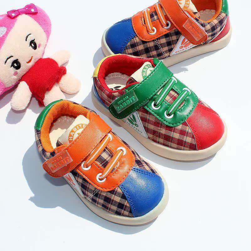 -Осенью 2015 Габита аутентичные Корейский Детская обувь для мальчиков и девочек Холст обувь спортивная обувь детей Весна