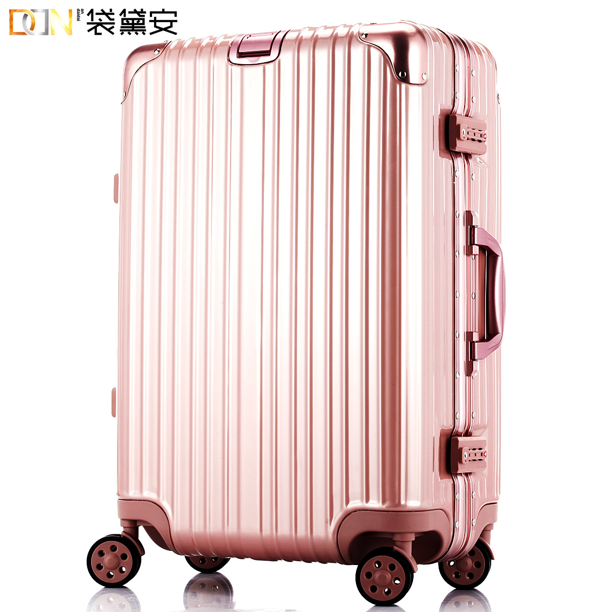 袋黛安鋁框拉杆箱萬向輪行李箱子20登機旅行箱24 26寸托運男女包