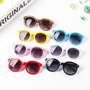 兒童太陽鏡男童女童韓版時尚墨鏡寶寶夏季防紫外線個性太陽眼鏡潮