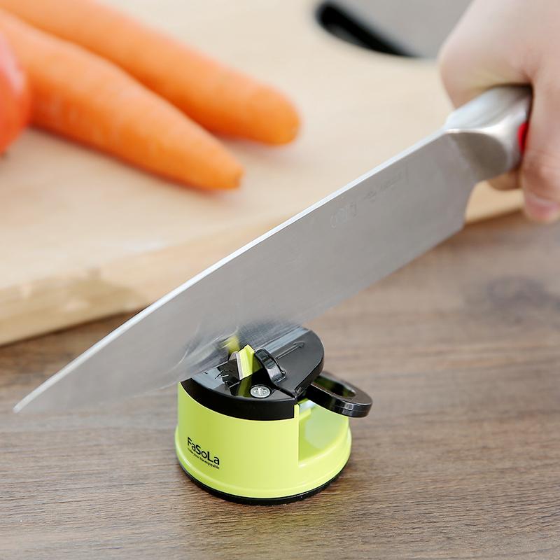 Япония кухня домой точильный камень стали вольфрама быстро мельница кухонные ножи ножницы дуплекс лезвие портативный инструмент братья устройство