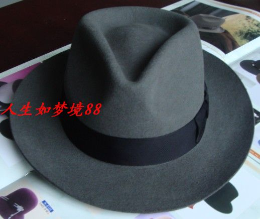 Pure wool Shanghai beach, retro gentry, gentry, gentlemen, hats, film and TV shows, costumes and hats