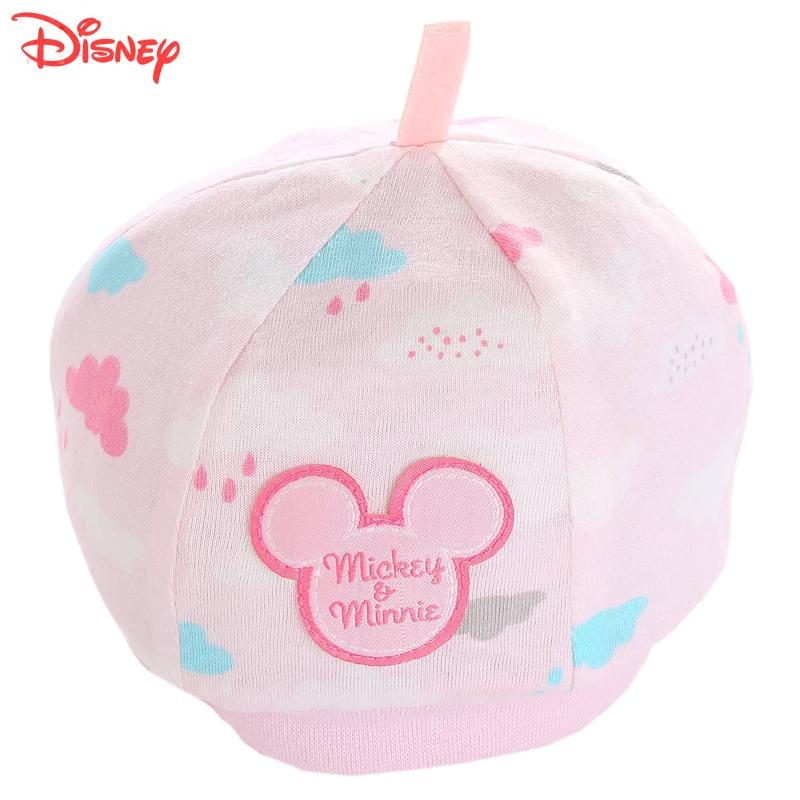 迪士尼新生兒帽 嬰兒帽子寶寶 胎帽 寶寶春秋保暖帽小帽子