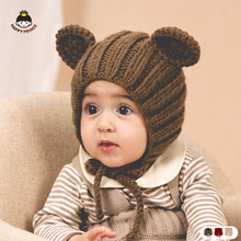 Happyprince South Korea cute warm boys and girls Baby Hat Baby wool Baby Hat autumn and winter