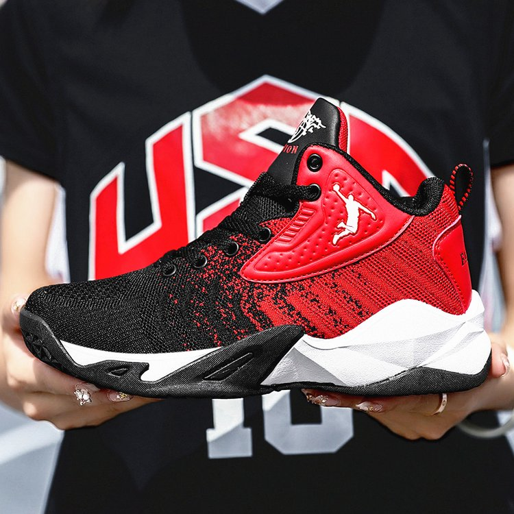 36 37 small basketball shoes male student spring style womens black red black blue sports shoes couple style basketball shoes