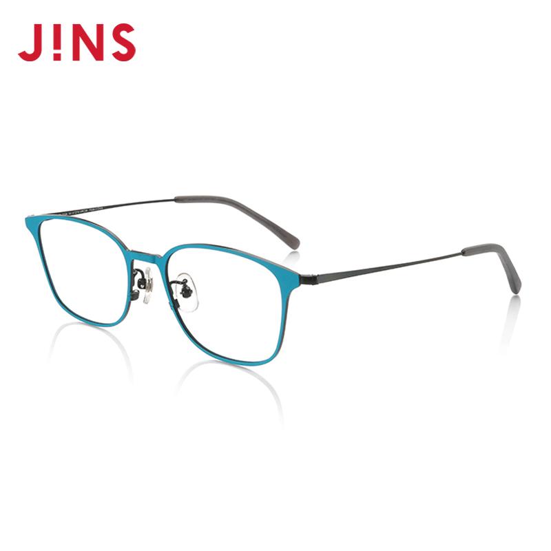 JINS睛姿含镜片近视镜CLASSIC 90's可加配防蓝光镜片MMF17A015