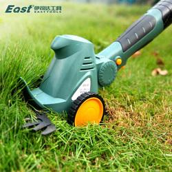 电动割草机除草小型家用园艺多功能绿篱充电式松土草坪剪草修剪机