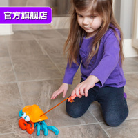 Think baby baby toys toddler toys 6-18 months hand drag toy осьминог краб перетаскивание