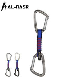 阿尔纳斯直弯门扁带快挂登山攀岩快挂扣登山扣户外安全保护装备图片