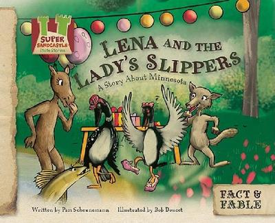 【预售】Lena and the Ladys Slippers: A Story about