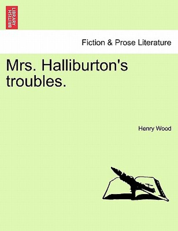 【预售】Mrs. Halliburton's Troubles.