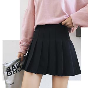 格子百褶裙女春夏学院短裙高腰半身裙2020新款裙子jk制服a字裙裤