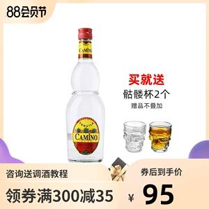 进口懒虫银龙舌兰酒特基拉Tequila鸡尾酒龙舌兰日出基酒墨西哥