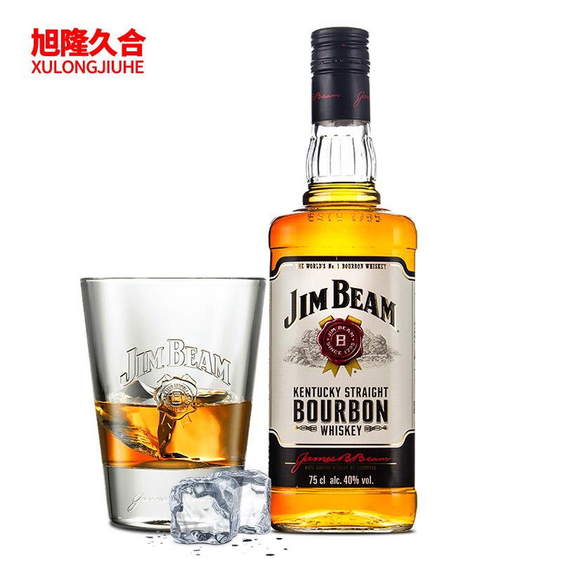 行貨 洋酒 JIM BEAM金賓 白占邊波本威士忌 沾邊波旁威士忌