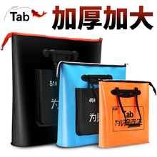 Tab Fish Protection Bag Multifunctional EVA Fishing Bag Thickening Waterproof and Odor-proof Folding Fishing Protection Fishermen Portable Fishing Gear