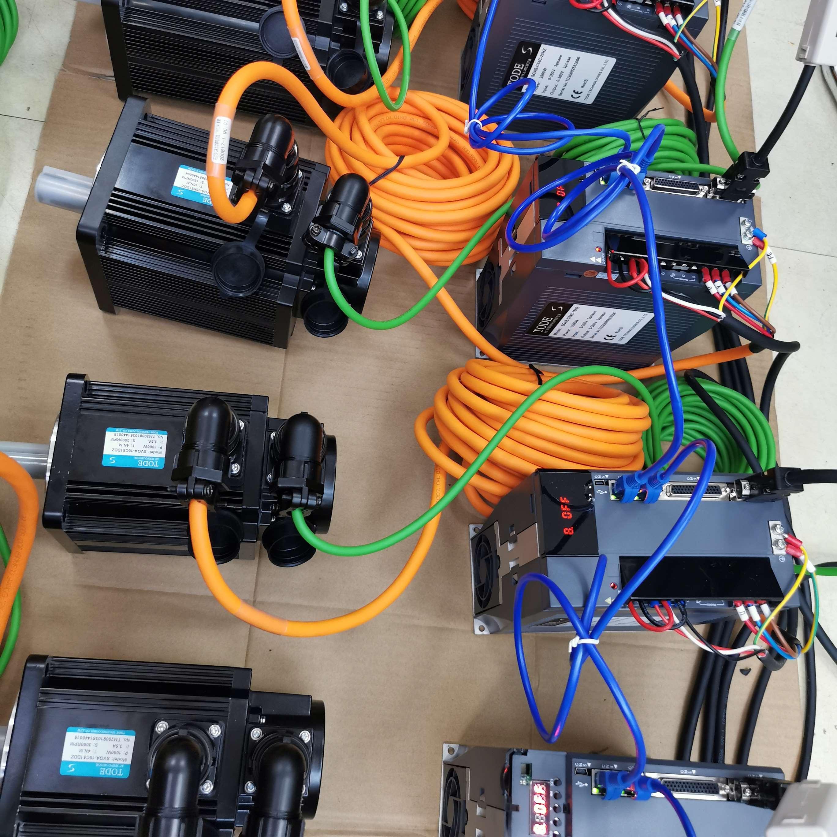 値式サーボモータ23ビット高精度プログラミングEThErCATバスサーボドライバセット