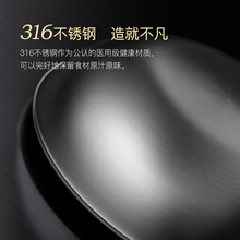 Kangbach flagship store official flagship third generation stainless steel frying pan non-stick frying pan electromagnetic oven frying pan household pot