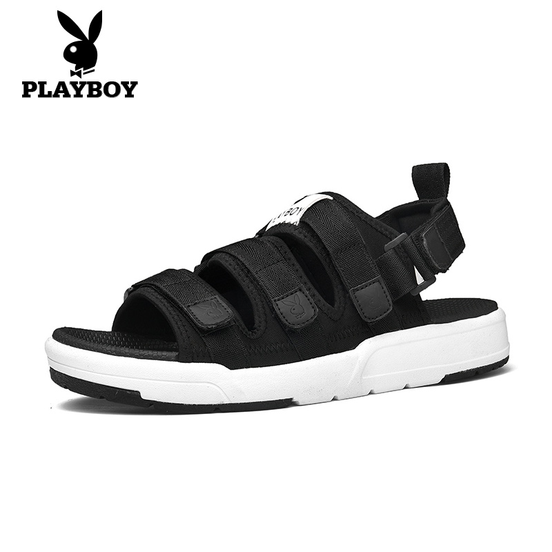 Playboy men's shoes summer 2021 sports sandals men's Korean version of the trend beach shoes to wear casual sandals and slippers