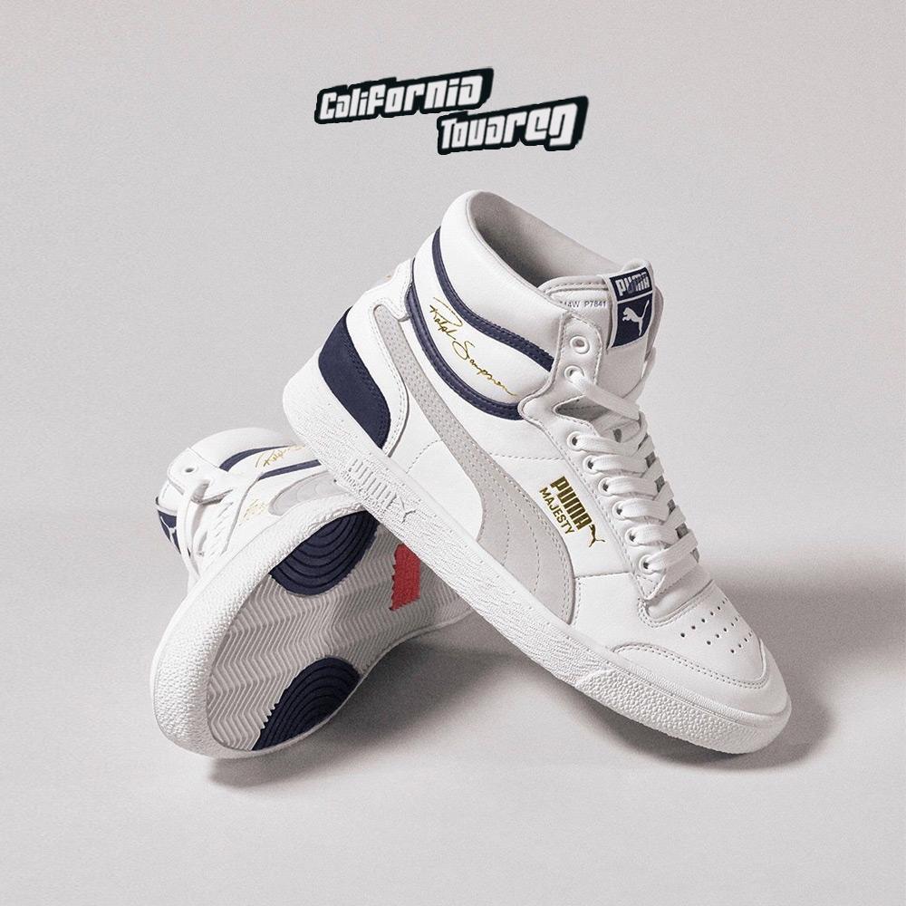 Puma 2019李现同款 男女运动鞋高帮透气舒适休闲鞋板鞋 370847-05