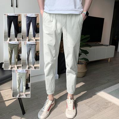 八分裤男士8宽松9分夏季休闲裤