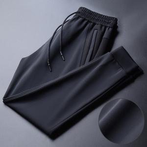 轻奢男装高端运动裤子韩版潮流休闲长裤春秋2020新款潮牌束脚卫裤
