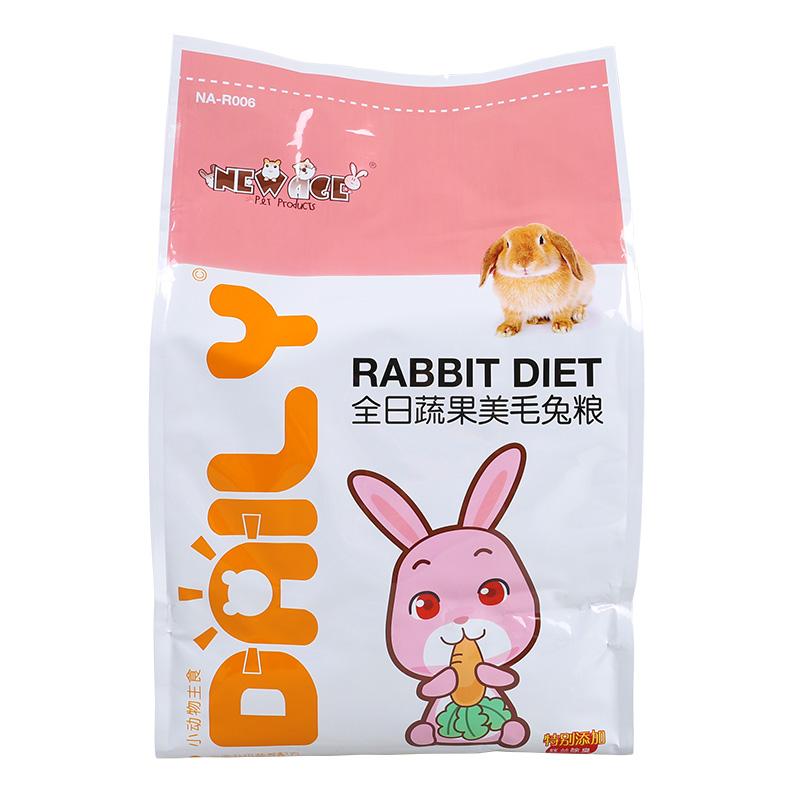 包郵 NEW AGE紐安吉全日美毛蔬果兔糧兔子糧食3KG