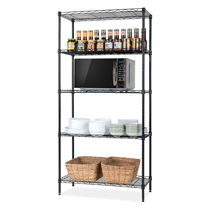 Heart Ikea bedroom storage rack kitchen shelf metal living room balcony floor multi-layer storage laminate finishing Rack