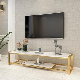 北欧轻奢大理石电视柜茶几组合客厅铁艺卧室小户型后现代简约极简图片