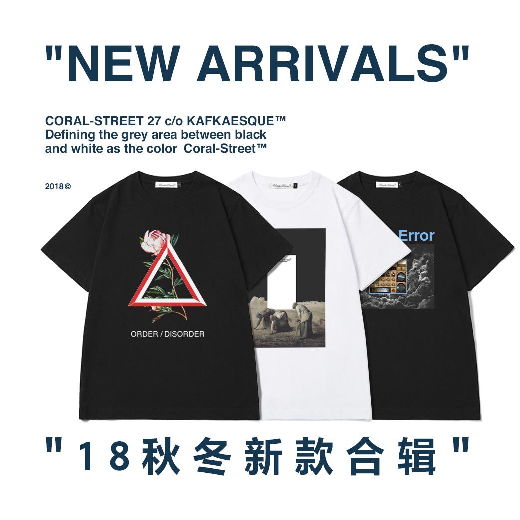 2018aw秋冬UC新款合辑undercover纯棉男短袖T恤TEE情侣款T-shirt