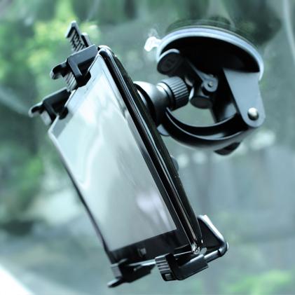 包邮-10寸吸盘式手机平板车载支架