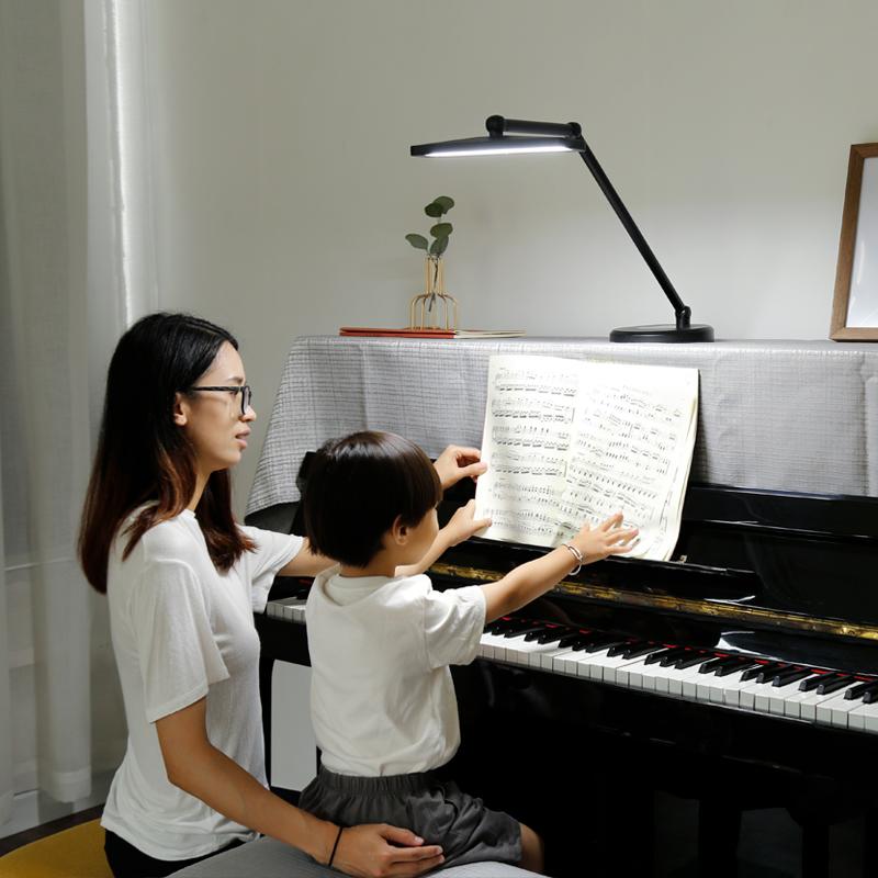 德贝斯led钢琴灯落地台灯护眼卧室床头高亮乐谱灯钢琴灯练琴专用