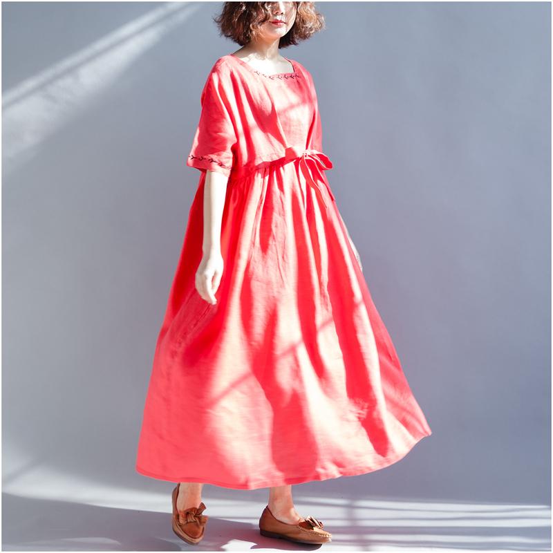 大萝莉大码女装夏季胖mm200斤仙女洋气长裙子日系减龄显瘦连衣裙