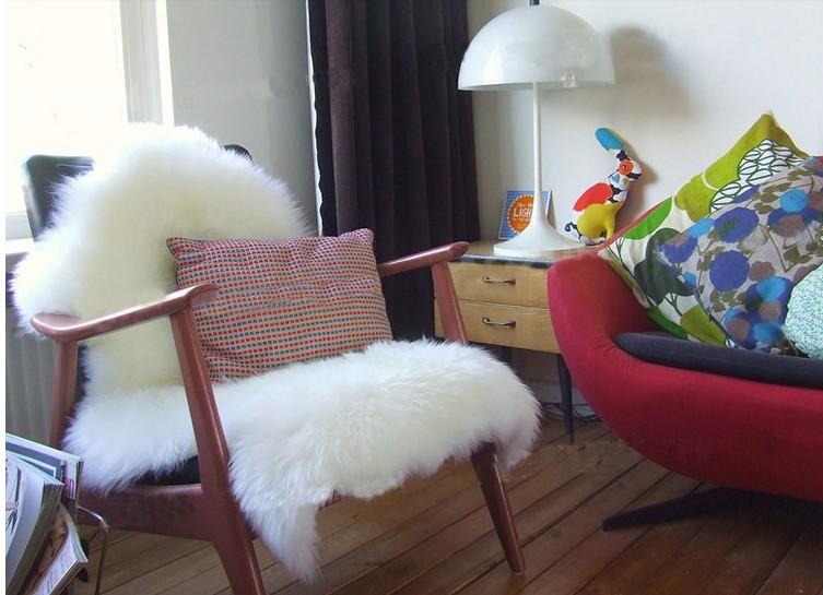 澳洲仿羊毛沙发毯白色长毛绒地毯整张羊皮羊毛垫客厅卧室飘窗垫