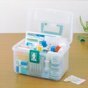 日本愛麗思IRIS 家庭醫藥箱多層小號衛生愛麗絲應急塑料儲藥箱子
