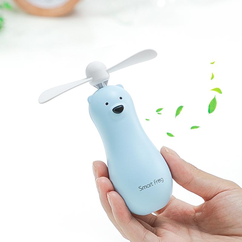 随身迷你风扇卡通搅拌棒便携式儿童手拿小型手持多功能电池电风扇