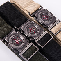 Outdoor Cobra Tactical Belt male multifunctional special forces in the training of military fans nylon canvas belt