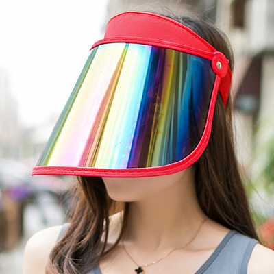 Summer open top sunscreen hat riding sunshade protection female hat anti ultraviolet sun hat outdoor fishing anti droplets