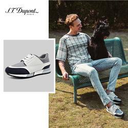 S.T. Dupont/都彭撞色运动鞋休闲鞋男皮鞋男鞋子男潮鞋 G27119804