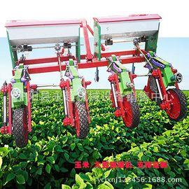 免耕免间苗大豆玉米精播机悬浮式种植机农用播种机六行多行可定制图片