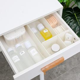 办公抽屉分隔板diy自由组合厨房收纳家用衣柜整理分隔栏分割盒格