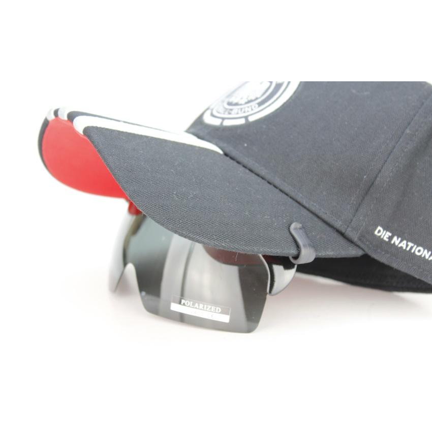 AD夹帽式可掀POLARIZED偏光PC防爆镜片太阳眼镜男女司機鏡戶外鏡