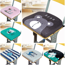 School memory cotton cushion student cushion classroom chair autumn and winter chair cushion Bench Cushion dormitory buttock cushion