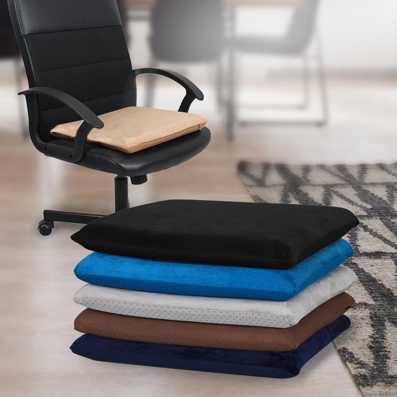 记忆棉办公椅坐垫办公室久坐学生凳子椅子座垫椅垫冬季垫子椅子垫