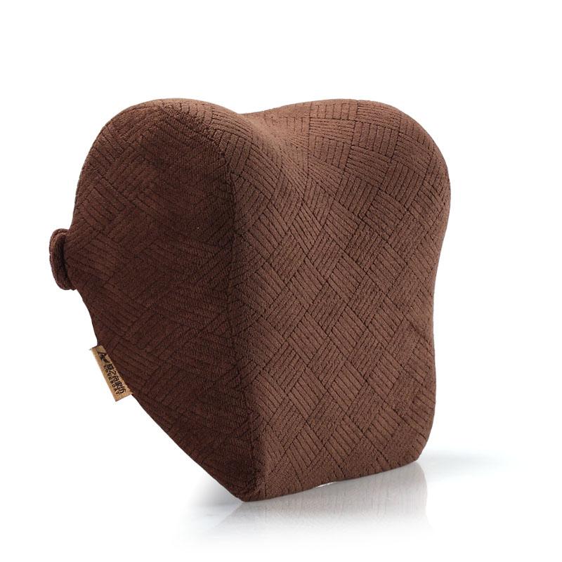 愛之舟車用頭枕汽車頭枕太空記憶棉頭枕護頸枕水滴枕頭靠枕